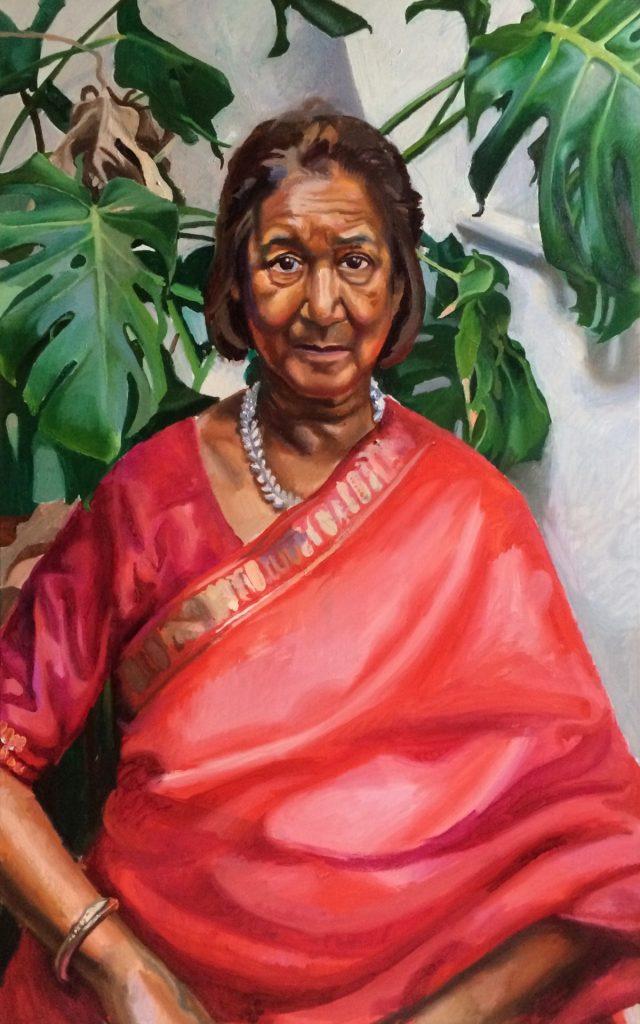 Portrait of Jaya Nicholas