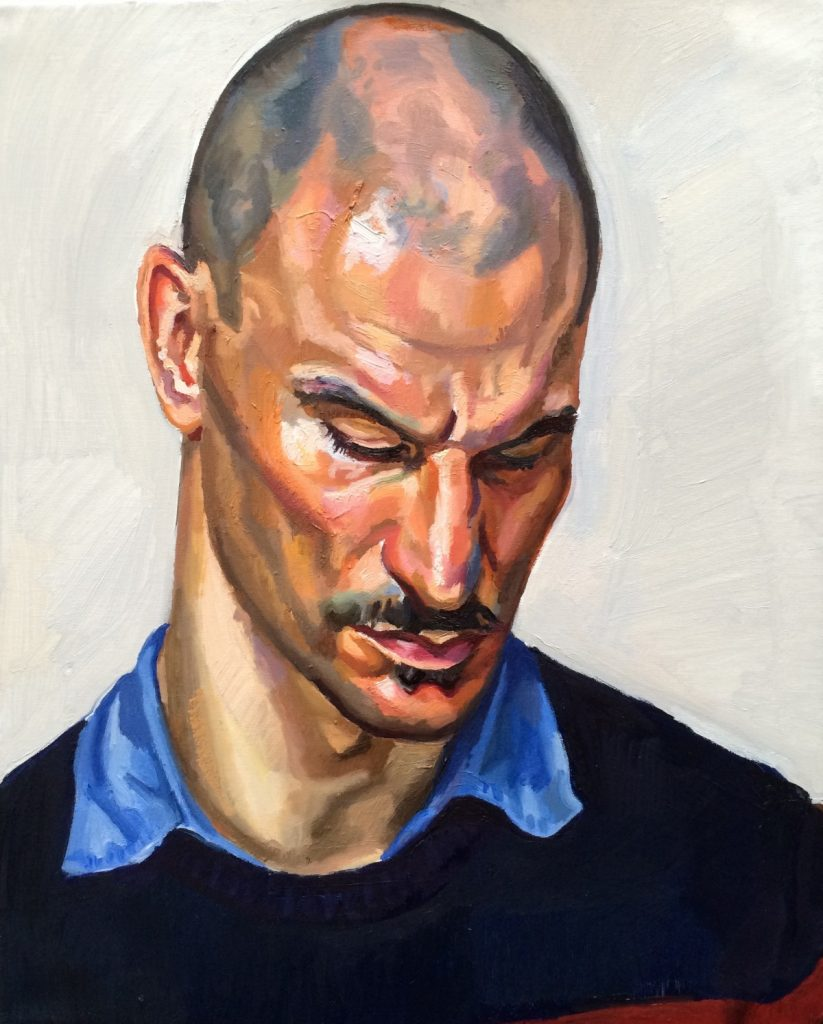 Portrait of Balazs Toth