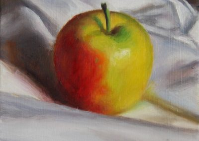 Oil on Canvas Apple