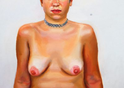 Nude Paul Wuensche painting