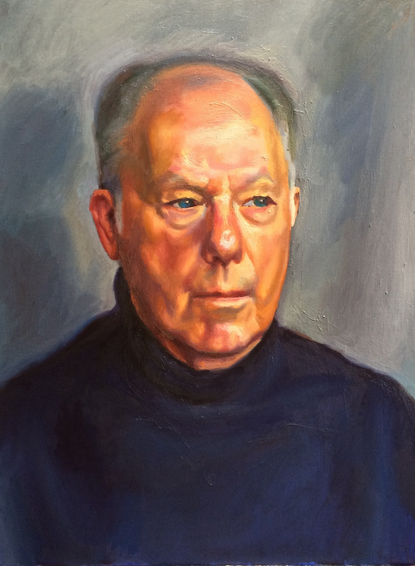 Portrait of my father in his early seventies